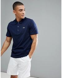dunkelblaues Polohemd von Lacoste Sport