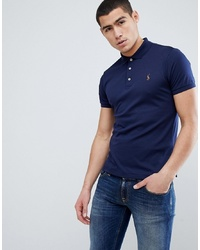 dunkelblaues Polohemd von Polo Ralph Lauren