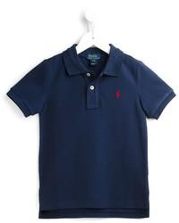 dunkelblaues Polohemd von Ralph Lauren