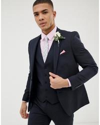 dunkelblaues Sakko von Burton Menswear
