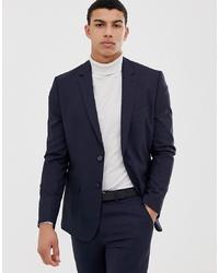 dunkelblaues Sakko von New Look