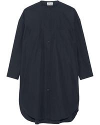 dunkelblaues Shirtkleid von Acne Studios