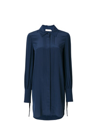 dunkelblaues Shirtkleid von Tory Burch