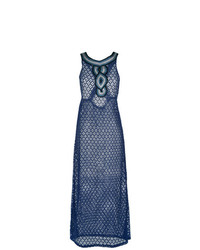 dunkelblaues Strandkleid von BRIGITTE