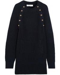 dunkelblaues Sweatkleid von Chloé
