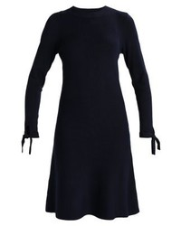 dunkelblaues Sweatkleid von Dorothy Perkins