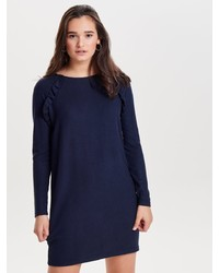 dunkelblaues Sweatkleid von Only