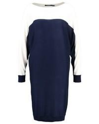 dunkelblaues Sweatkleid von Ralph Lauren