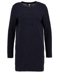 dunkelblaues Sweatkleid von s.Oliver