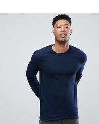dunkelblaues Sweatshirt von ASOS DESIGN