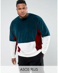 dunkelblaues Sweatshirt von Asos