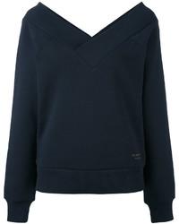 dunkelblaues Sweatshirt von Burberry