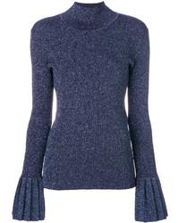 dunkelblaues Sweatshirt von Carven