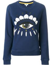 dunkelblaues Sweatshirt von Kenzo