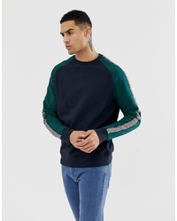 dunkelblaues Sweatshirt von New Look