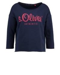 dunkelblaues Sweatshirt von s.Oliver