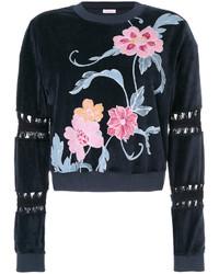 dunkelblaues Sweatshirt von See by Chloe