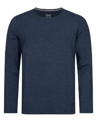 dunkelblaues Sweatshirt von super natural