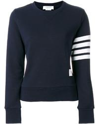 dunkelblaues Sweatshirt von Thom Browne