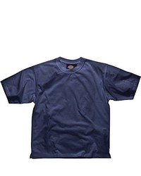 dunkelblaues T-Shirt mit einem Rundhalsausschnitt von Dickies