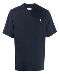 dunkelblaues T-Shirt mit einem Rundhalsausschnitt von Kenzo
