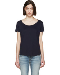 dunkelblaues T-shirt von Rag & Bone