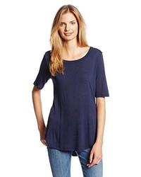 dunkelblaues T-shirt von Splendid