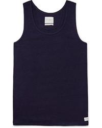 dunkelblaues Trägershirt