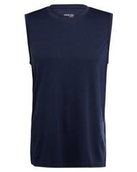 dunkelblaues Trägershirt von Zalando Sports