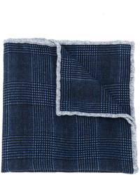 dunkelblaues Wolleinstecktuch von Eleventy