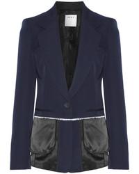 dunkelblaues Wollsakko von DKNY