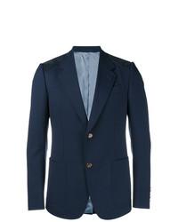 dunkelblaues Wollsakko von Gucci