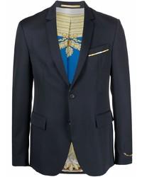 dunkelblaues Wollsakko von Versace