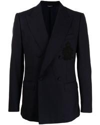 dunkelblaues Zweireiher-Sakko von Dolce & Gabbana