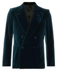 dunkelblaues Zweireiher-Sakko von Gucci