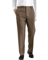 dunkelbraune Anzughose von Classic