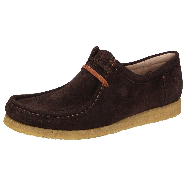 dunkelbraune Chukka-Stiefel aus Wildleder von Grashopper