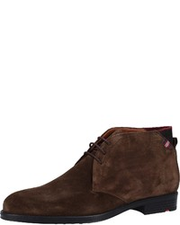 dunkelbraune Chukka-Stiefel aus Wildleder von Lloyd