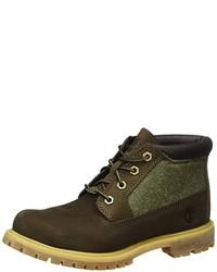 dunkelbraune Chukka-Stiefel von Timberland