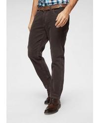 dunkelbraune Cordjeans von Pioneer Authentic Jeans