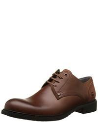 dunkelbraune Derby Schuhe von G-Star RAW