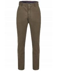 dunkelbraune enge Jeans von CLUB OF COMFORT