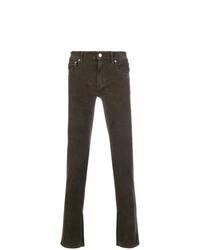 dunkelbraune enge Jeans von Department 5