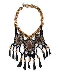 dunkelbraune Halskette
