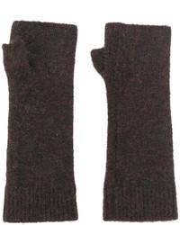 dunkelbraune Handschuhe von Isabel Marant