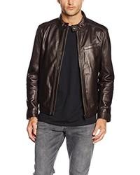 dunkelbraune Jacke von Tommy Hilfiger