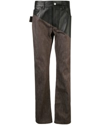 dunkelbraune Jeans von Bottega Veneta