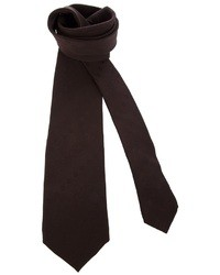 dunkelbraune Krawatte