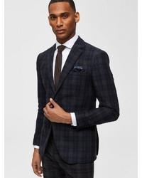 dunkelbraune Krawatte von Selected Homme