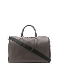 dunkelbraune Leder Reisetasche von Canali